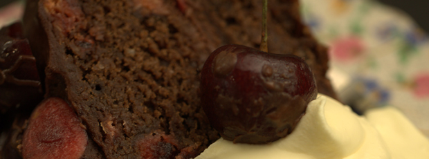 Alice's Cherry Ripe Mud Cake 3
