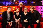 Hugh Grant, Joanna Page, Jo Brand and David Guetta on The Graham Norton Show