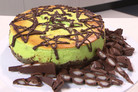 Alice's Mint Chocolate-Chip Cheesecake