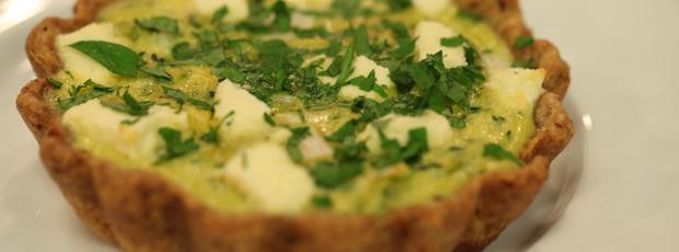Alice's Wholemeal Leek & Feta Pie