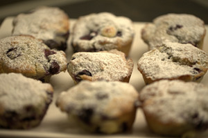 Deborah's Blueberry and White Chocolate Muffins