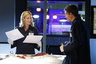 A scene from CSI - Seeing Red - Season 12, Episode 14