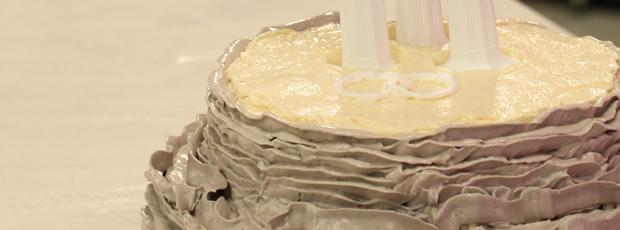 Alice Arndell's Wedding Cake