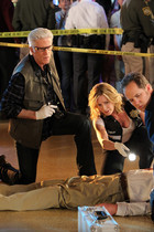 A scene from CSI - Split Decisions - Season 12, Episode 19