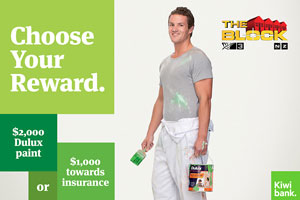 Take up homeloan with Kiwibank and choose your reward