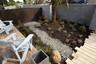 Fantastic pebble pathway