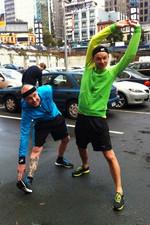 Stylie workout gear boys...