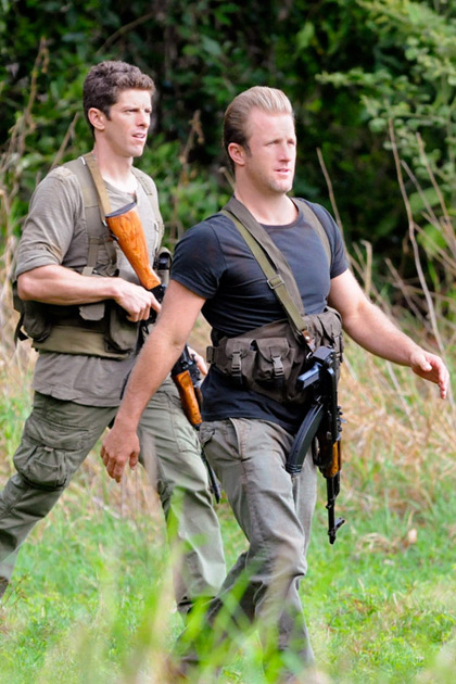 Lt. Jacks (Sean MacCormac) and Danno (Scott Caan) go to North Korea with the Five-0 team to help McGarrett out of a jam with local rebels.