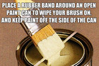 Great painting tip!