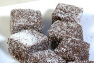 Dark Chocolate Lamingtons