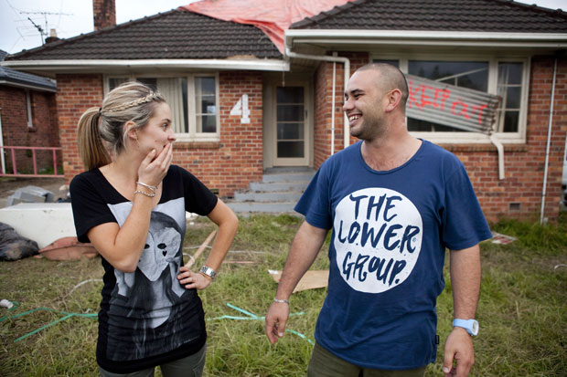 The Couples Arrive At The Block NZ Houses