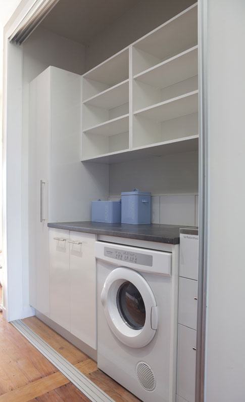 Perfect storage for the laundry