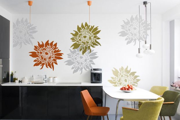 Bring some funky colour into your kitchen