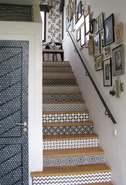 Looks incredible on stairs
