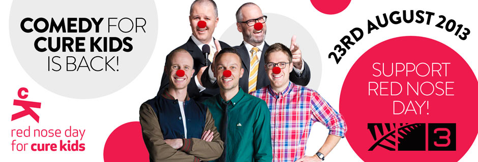RED NOSE DAY COMEDY IS BACK IN 2013!