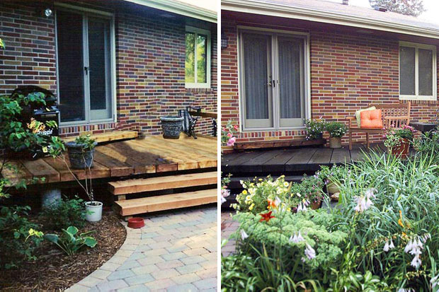Even just a garden do over makes a huge difference