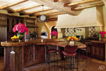 Will and Jada Pinkett Smith's eclectically designed kitchen