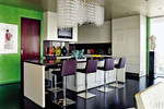 Elton John and David Furnish's modern chic kitchen