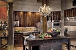Gerard Butler's medieval like kitchen