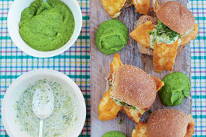 The Best Fish Babs with Mushy Peas & Tartare Sauce
