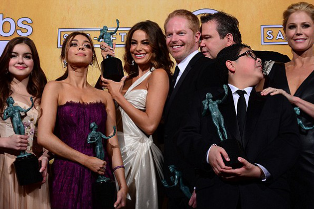 Modern Family win Outstanding Ensemble In A Comedy Series