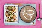 Low calorie Mushroom soup