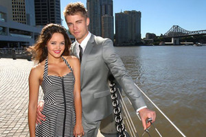 Rebecca Breeds & Luke Mitchell marry