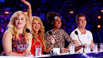 The ladies were on fire at X FACTOR auditions! Simon's not looking so bad himself.