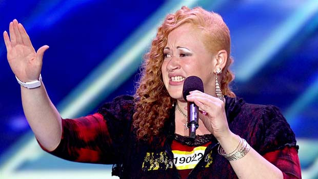 This lady rocked the X FACTOR stage singing in Pig Latin. Now, that's a first!