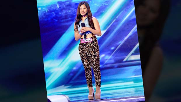 "The judges were wowed with how Ellona commanded the stage during her performance of ""Wings"" by Little Mix."
