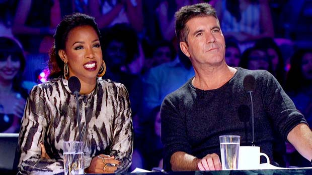 Admiration was in the eyes of Kelly Rowland and Simon Cowell during Ashly Williams' performance.