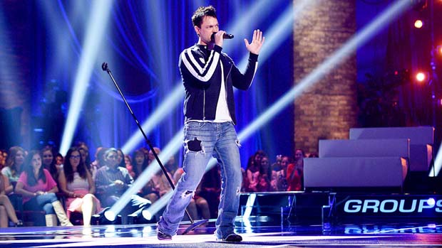 "Jeff Gutt amazed the crowd and our judges with his rockin' performance of ""Amazing Grace."""