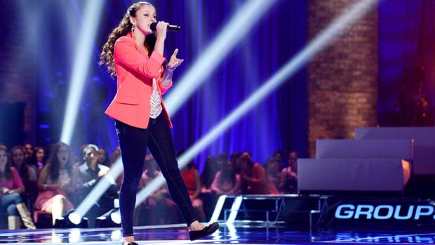 """Simone Torres performs a unique rendition of Sam Cooke's """"A Change Is Gonna Come."""""""