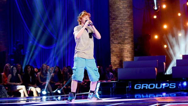 "Chase Goehring performed ""Airplanes"" by B.o.B."