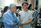 Joel Schumacher (left) with DP Eigil Bryld
