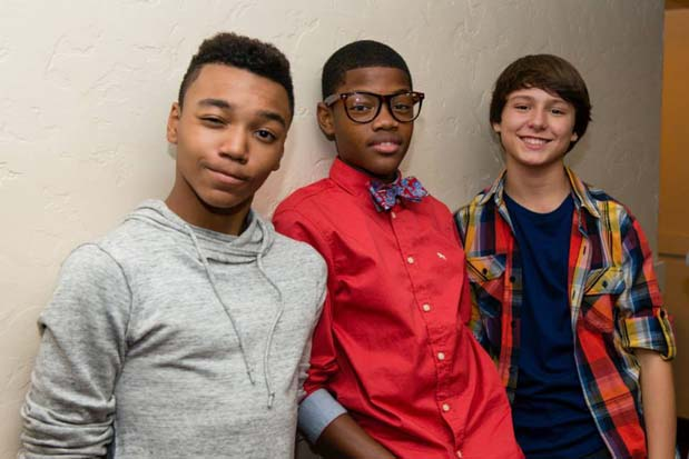 Looking good boys! Lookin' good. You're sure to set all the tween hearts aflutter.