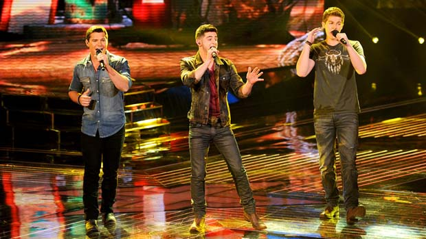 "Restless Road surprised us all with their song choice of Katy Perry's ""Roar."""