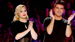 Demi Lovato and Simon Cowell stun in black!