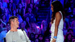 Kelly and Simon face off at X FACTOR auditions.