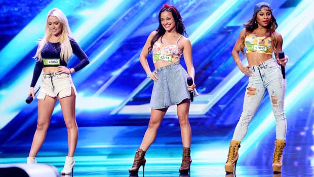 "Girls United won four yeses with their performance of Jessie J's ""Price Tag."""