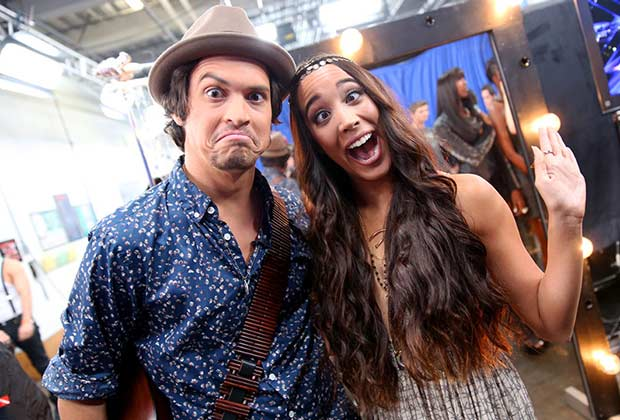 Alex & Sierra show off the goofier side of their personalities.