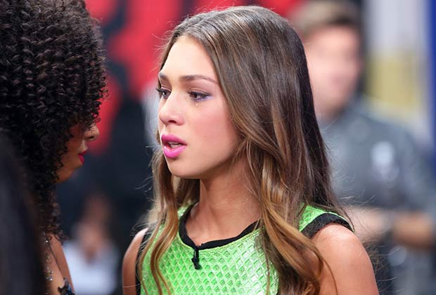 Celine Polenghi of Sweet Suspense was emotional after all the eliminations.