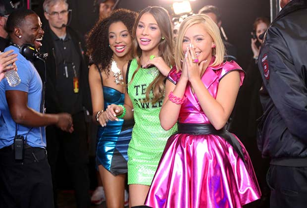 Summer, Celine, and Millie of Sweet Suspense were giddy after making it through to the Top 12.