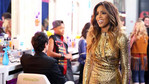 Kelly Rowland looked FIERCE in her gold ensemble.