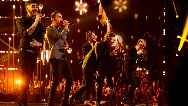 It was one of the most anticipated moments of the month - The X Factor UK's One Direction was ready to perform.