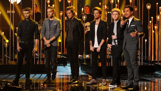 One Direction take the stage