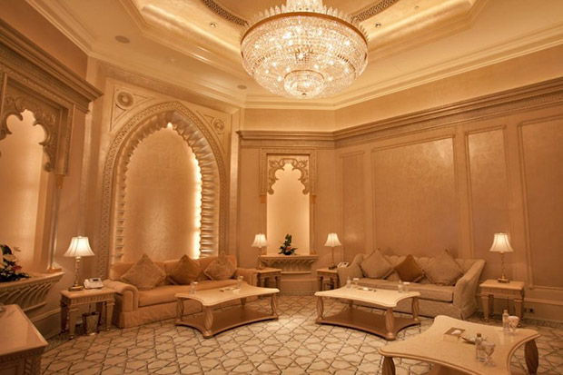 Palace Suites, Emirates Palace, Abu Dhabi - Price approx. US $4,000 p/night