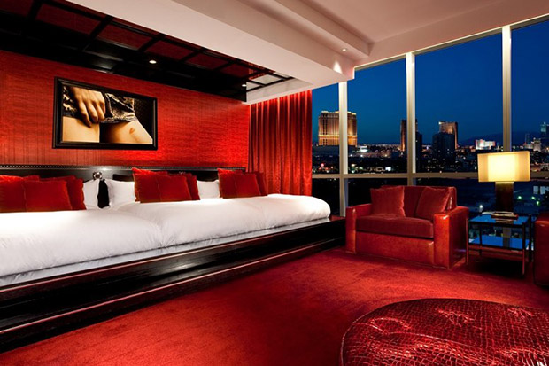 Provacateur Suite, Hard Rock Hotel, Las Vegas.  Price approx US $3,500 p/night