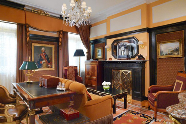 The Prince of Wales Suite has been host to royalty and movie stars.