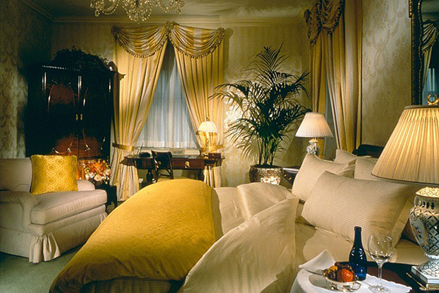 Every president since Herbert Hoover has spent the night in The Presidential Suite at the Waldorf Astoria, NYC.